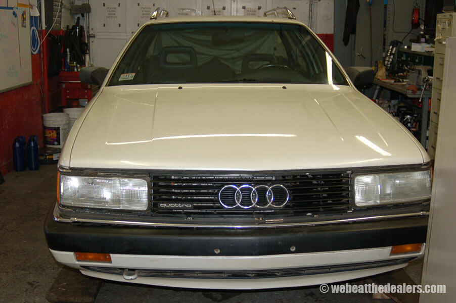 Boston - Waltham BMW, Audi and VW service - Previous Work - Audi Avant regular maintenance