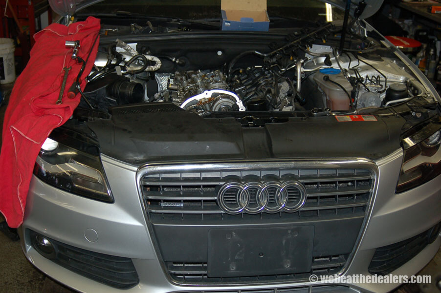 Boston - Waltham BMW, Audi and VW service - Previous Work - Audi decarbonization