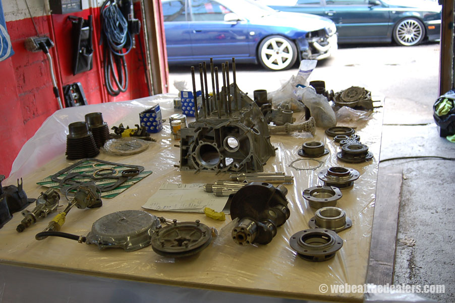 Boston - Waltham BMW, Audi and VW service - Previous Work - Fiat 500 Engine Work